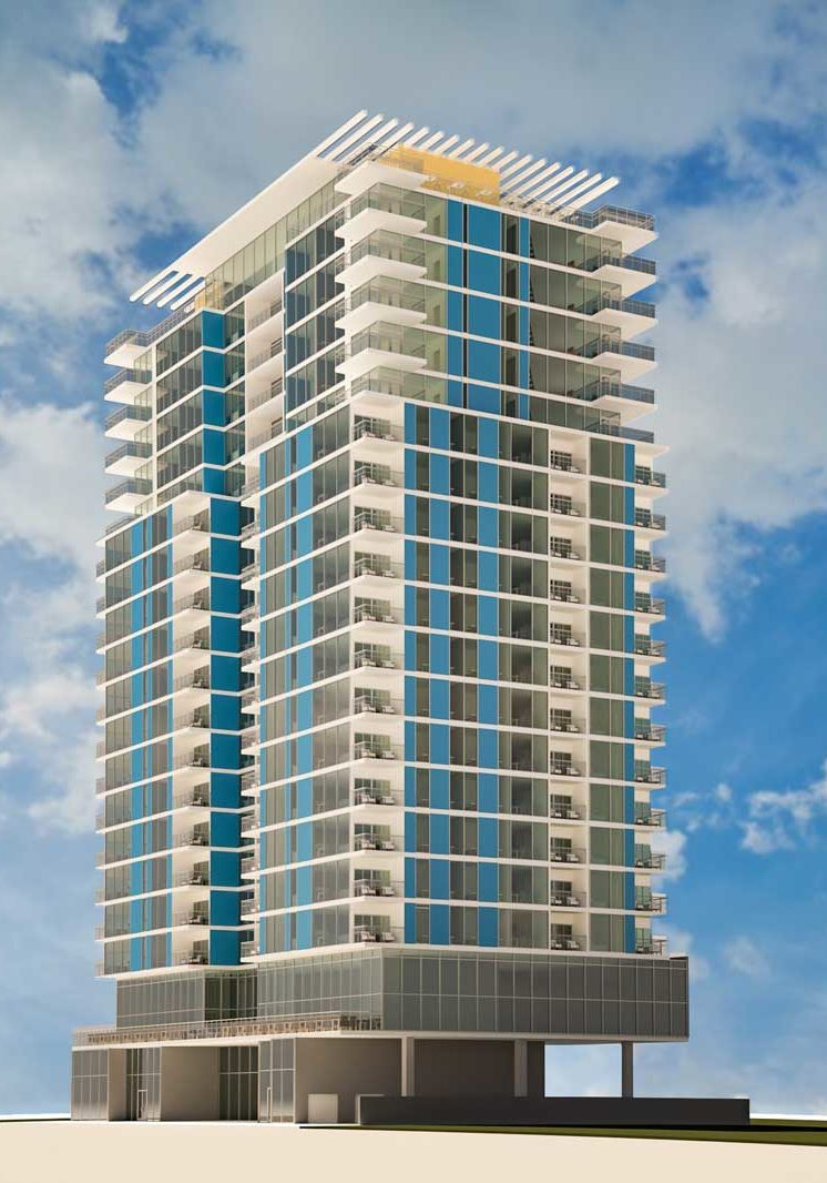 SJ Residential Tower Rendering