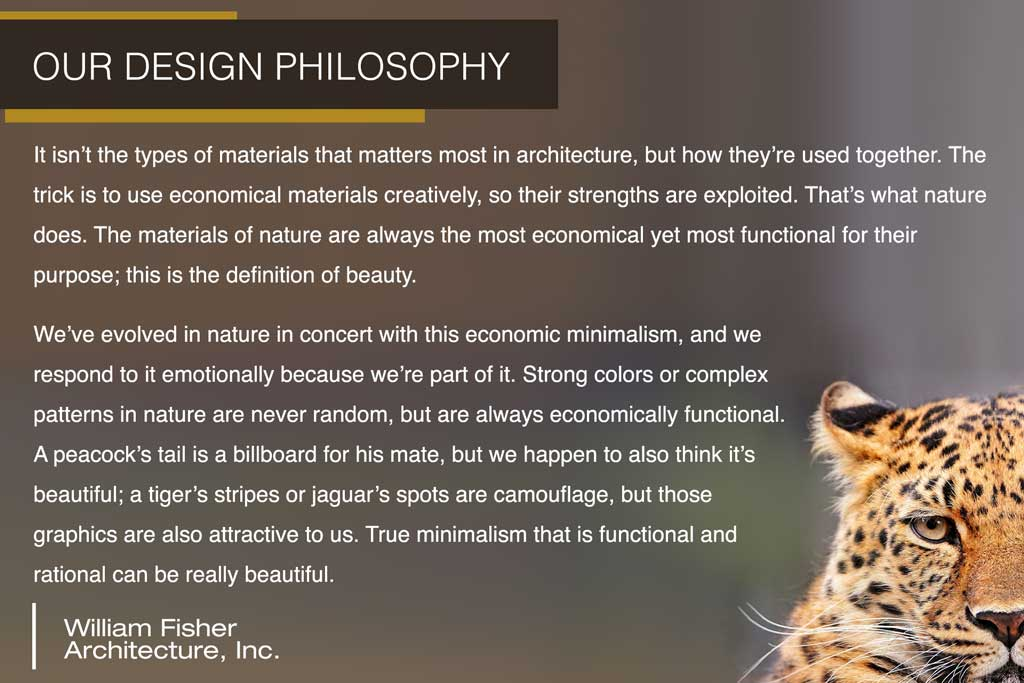 Our Design Philosophy